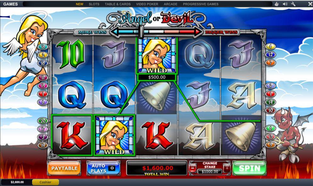 Angel or Devil Slot Machine
